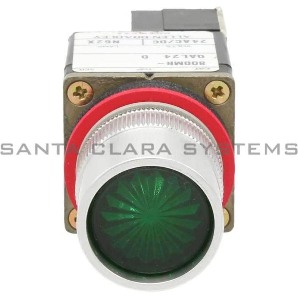 medium resolution of allen bradley 800mr qal24ga pushbutton switch product image