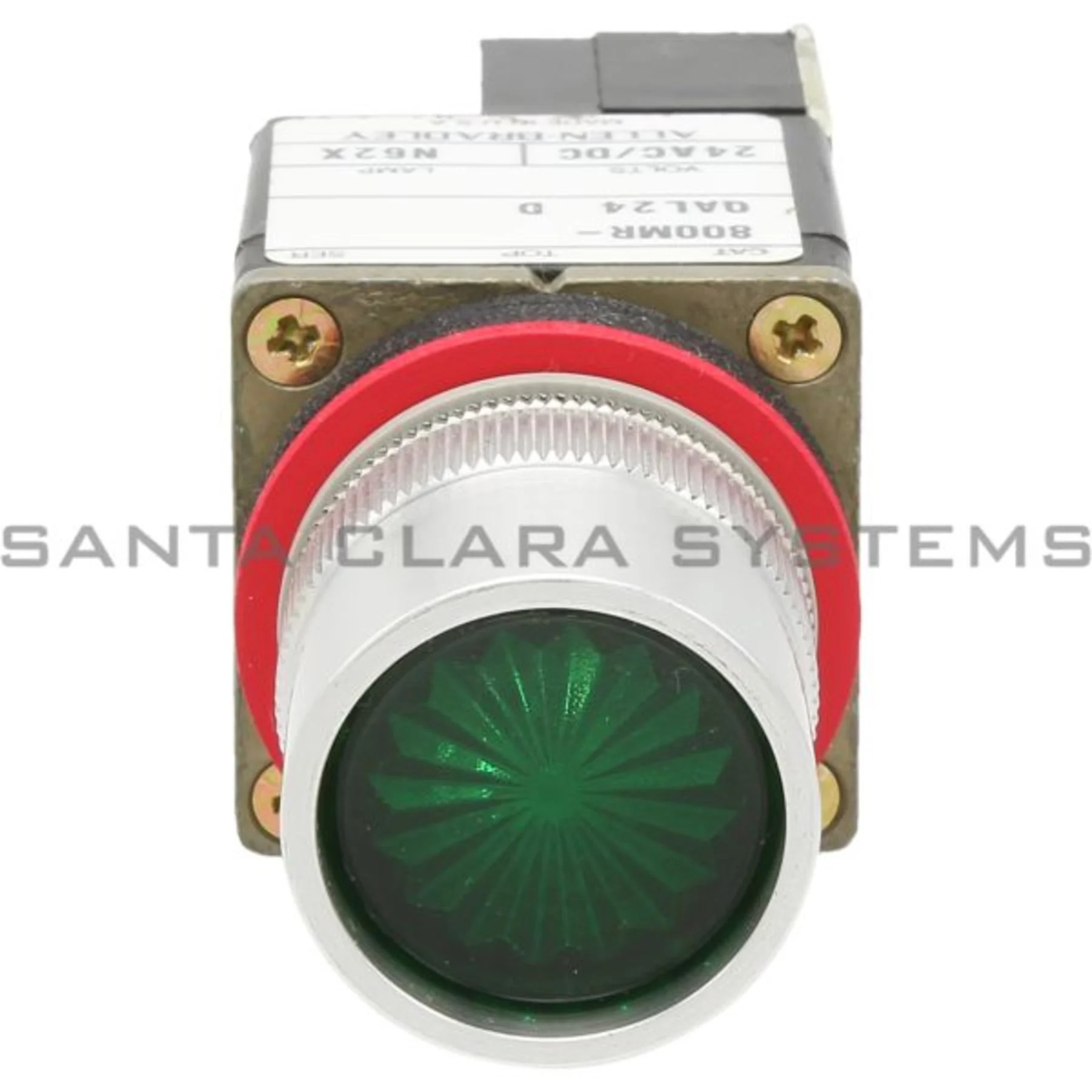 hight resolution of allen bradley 800mr qal24ga pushbutton switch product image
