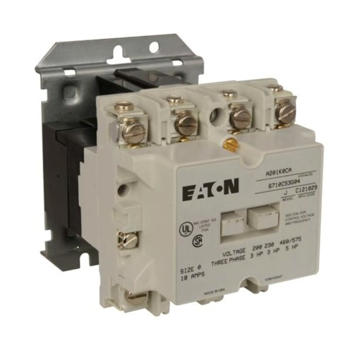 small resolution of cutler hammer a201k0ca reversing contactor product image