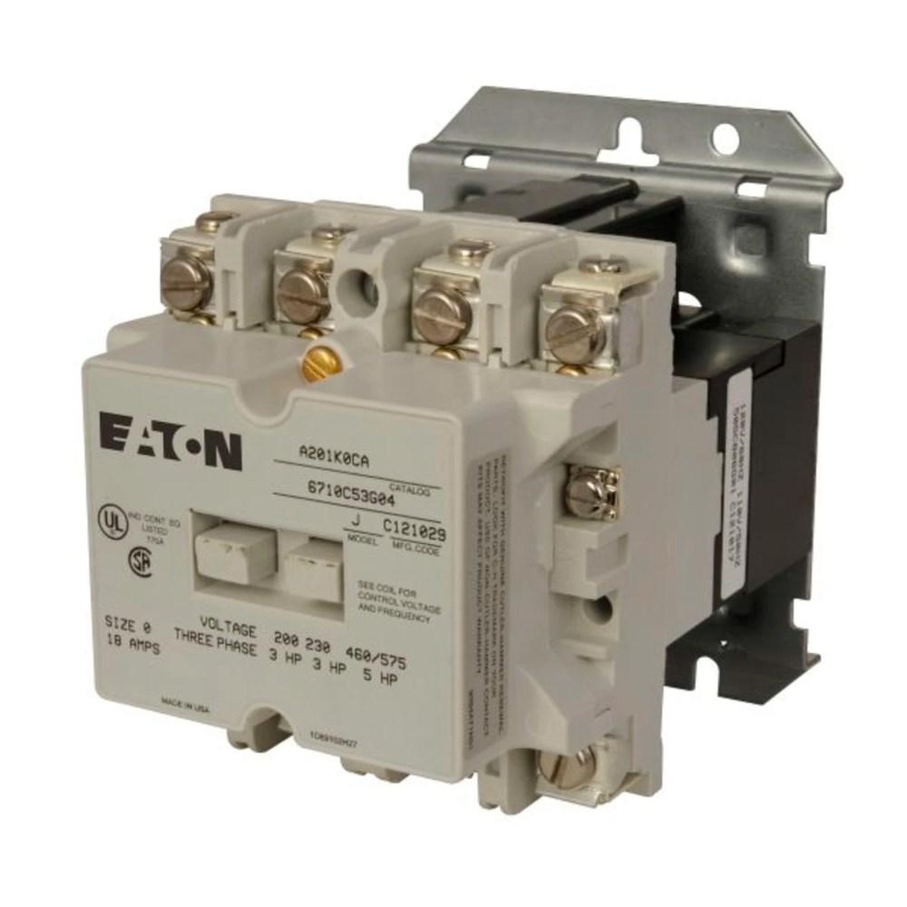 medium resolution of cutler hammer a201k0ca reversing contactor product image