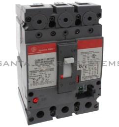 general electric sela 36at 0100 molded case circuit breaker 100 amp 600 volt ac [ 1800 x 1800 Pixel ]