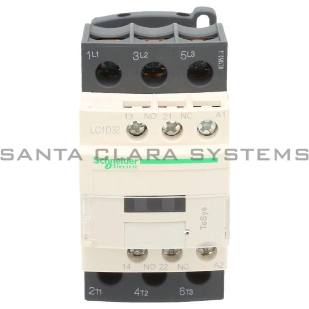 medium resolution of telemecanique lc1d32f7 tesys d contactor 3p 3 no ac 3
