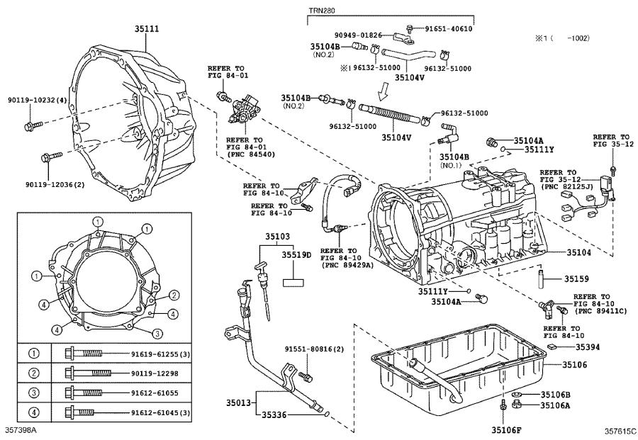 Toyota 4Runner Case sub-assembly, automatic transmission