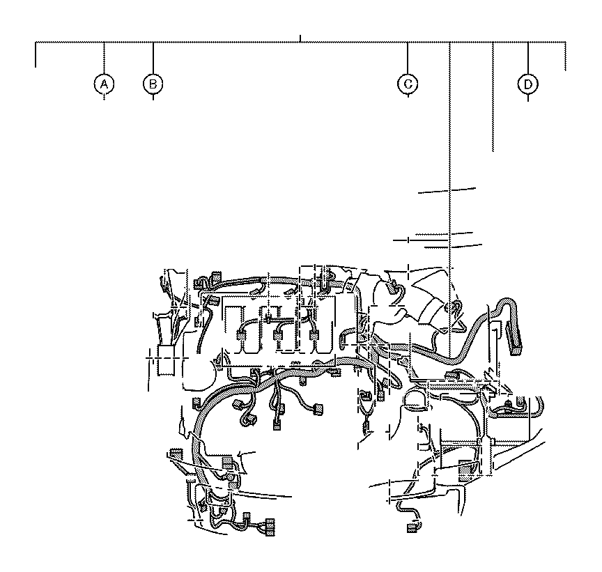 Toyota Avalon Wire, earth. Engine, clamp, connector