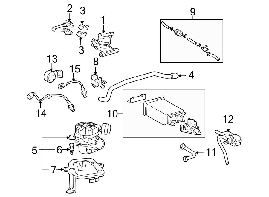 2008 Toyota Tacoma Pump. Air. Insulator. Injection