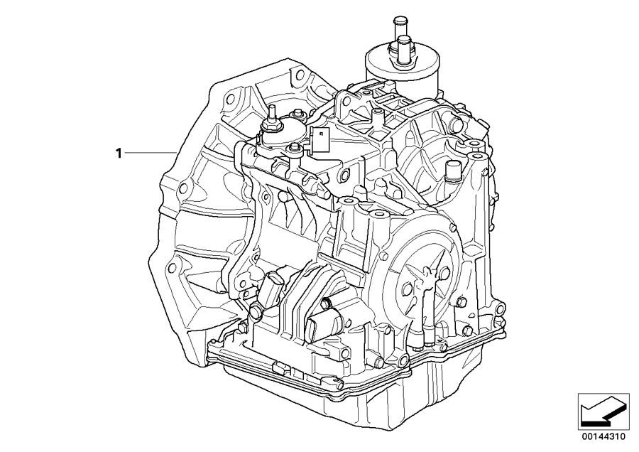 MINI Cooper S Exch. Automatic transmission EH. GA6F21WA