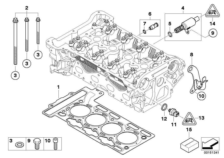 MINI Cooper S Gasket ring. Works, Convertible, John