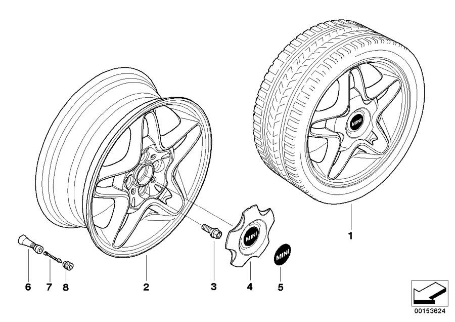 2008 MINI Cooper S Clubman Sports brake retrofit kit. J