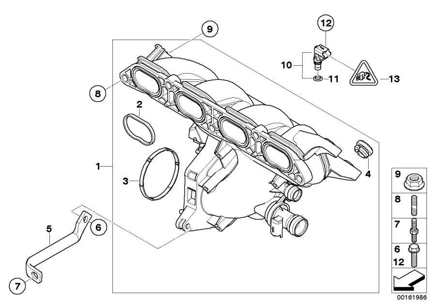 2009 MINI Cooper S Clubman Intake manifold system. Works