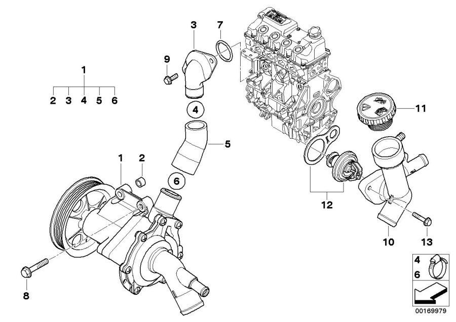 mini cooper engine cooling diagram