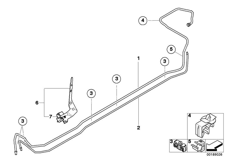 2009 MINI Cooper Fuel feed line. Tank, System