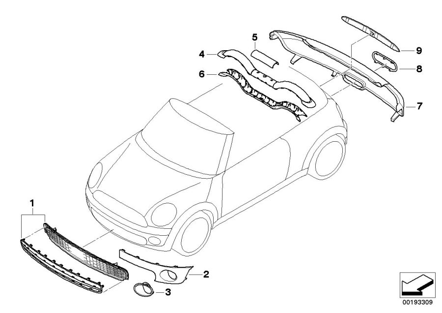 2009 Mini Cooper Convertible Parts Diagram. Mini. Auto