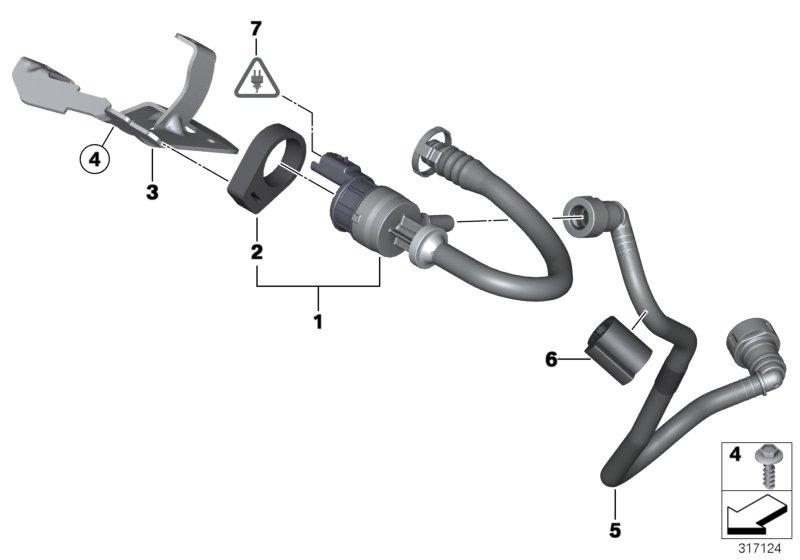 MINI Cooper S Fuel tank breather valve. Works, convertible