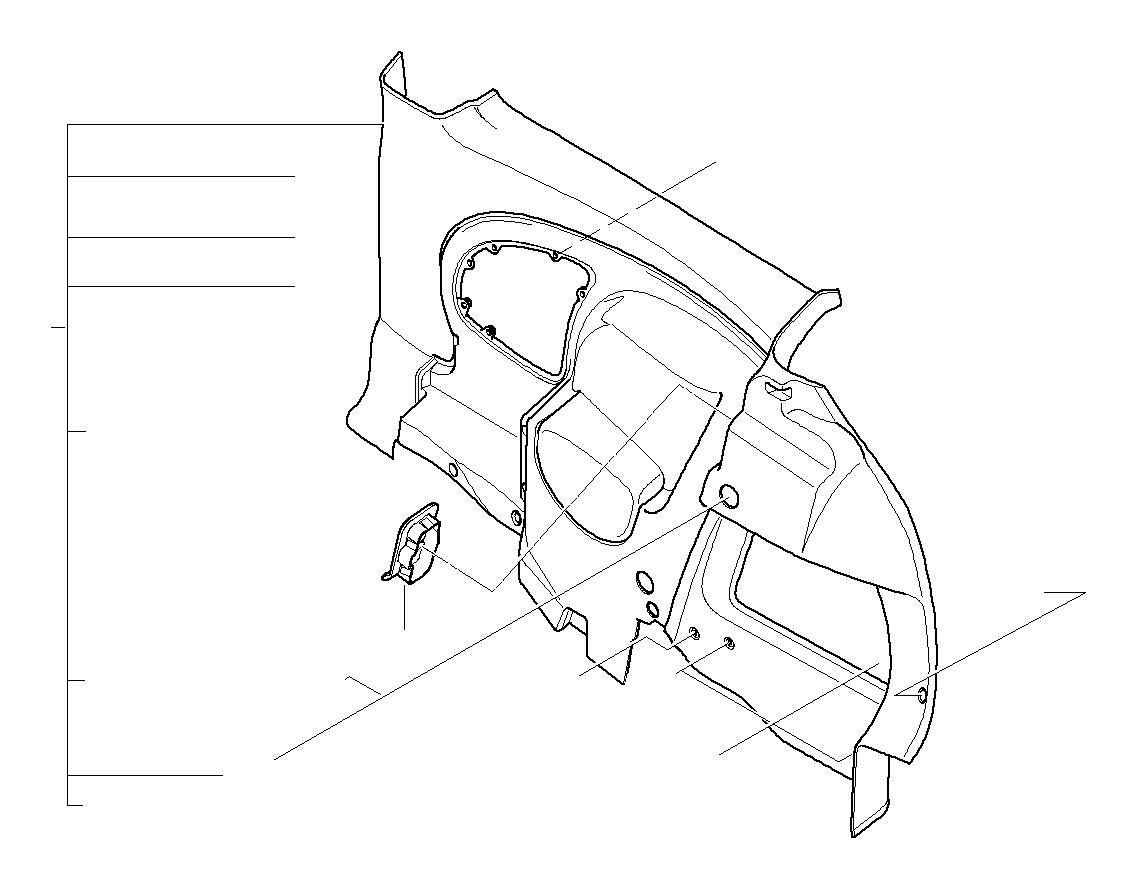 Mini Cooper Clubman Spring Clip Trim Works Panels
