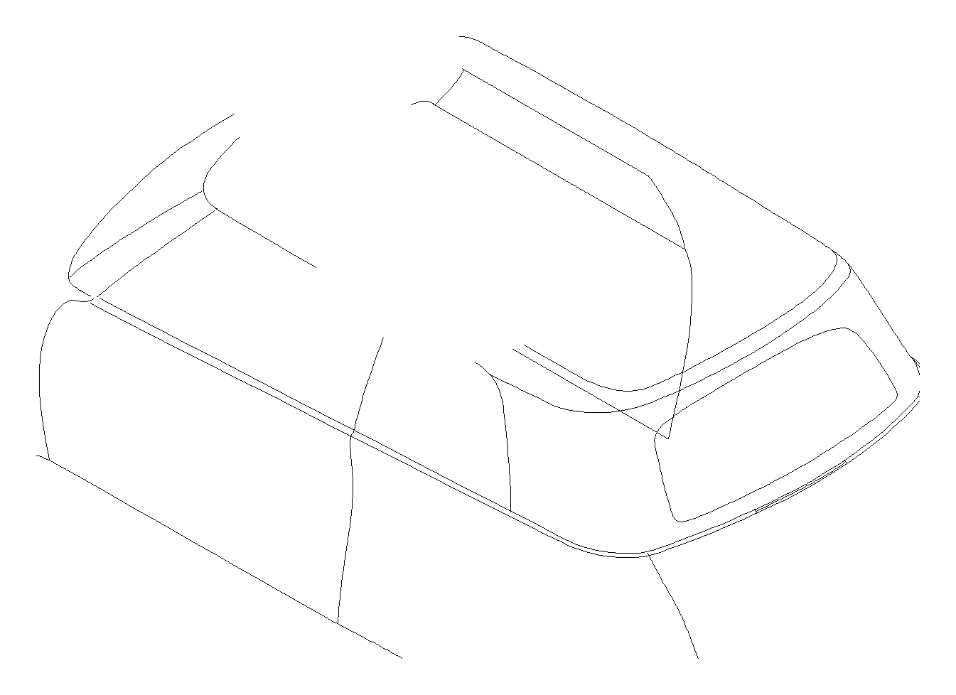 Mini Cooper Air Bag Module For Passenger Side Convertible