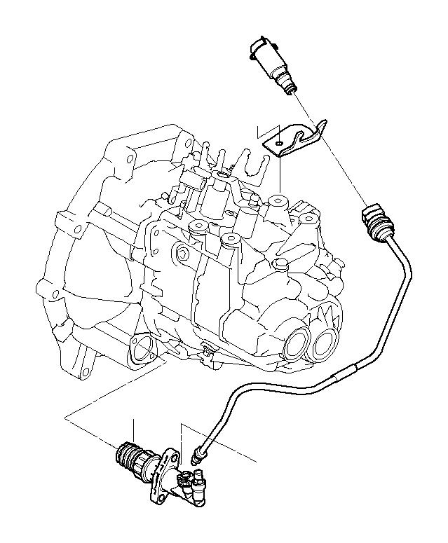 MINI Cooper Pipe. CONTROL, CLUTCH, Transmission