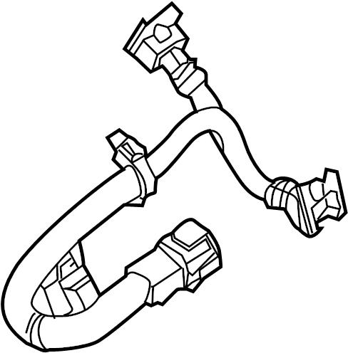 INFINITI QX4 Engine Wiring Harness. CONTROL, SUB, KNOCK