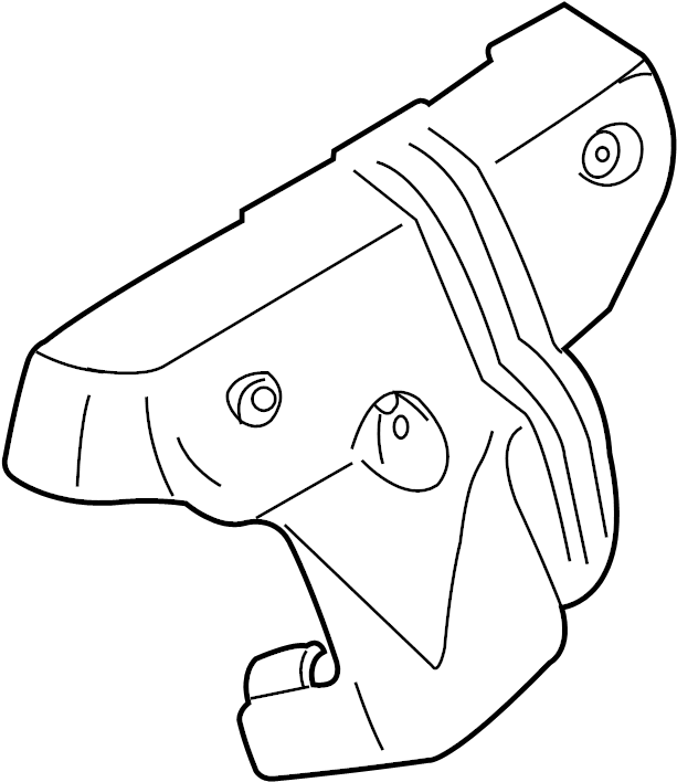 INFINITI I35 Exhaust Manifold Heat Shield. INTAKE, ENGINE
