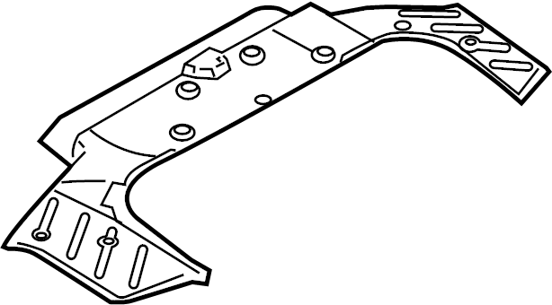 INFINITI G35 Trunk Trim Panel (Front). COUPE, BOSE