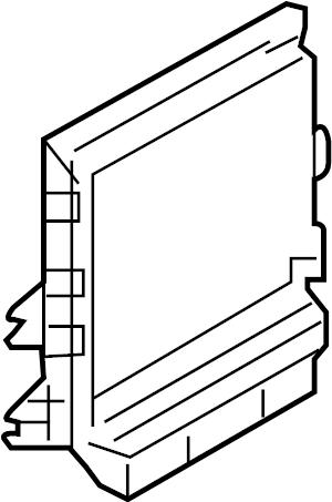 INFINITI FX35 Engine Control Module. BOSE, AVM, ICC