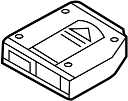 INFINITI G35 Cd Changer Cartridge. UNIT, AUDIO, ANTENNA