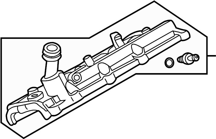 INFINITI M45 Engine Valve Cover. COMPONENT, ASSEMBLY