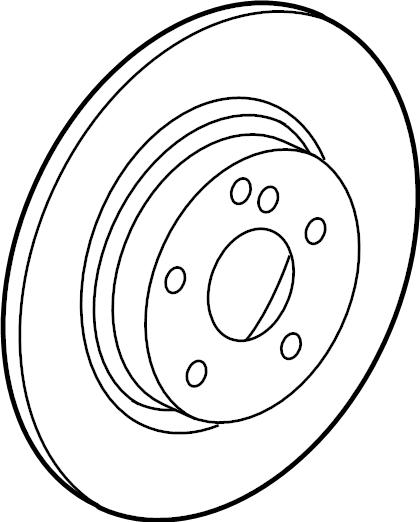 INFINITI J30 Brake Rotor Maintenance ADVANTAGE (RR). (Rear