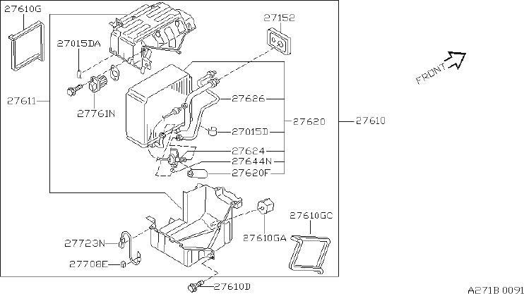 INFINITI I30 Hvac Blower Motor Control Module. AUTO