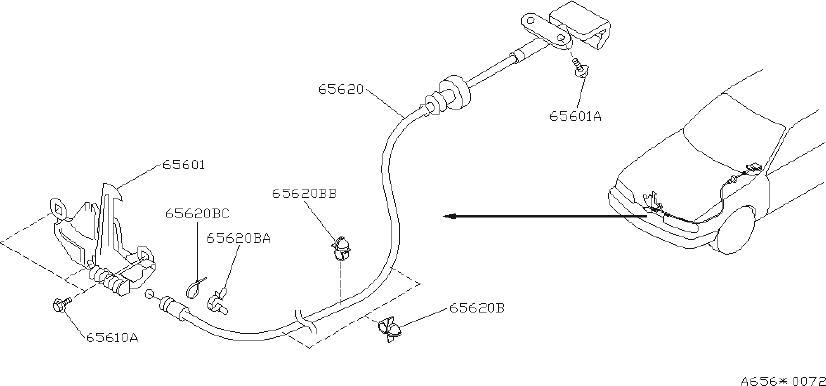 INFINITI Q45 Clip Hose. Clip Wiring Harness. WIPER, BODY