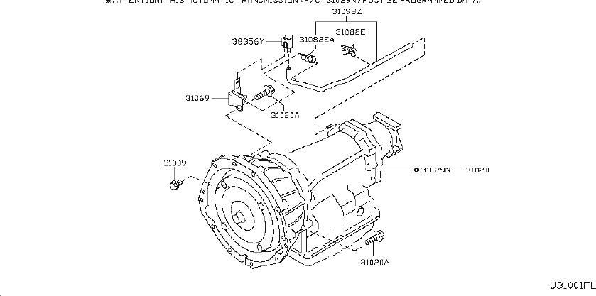 INFINITI EX35 Automatic Transmission. Service File