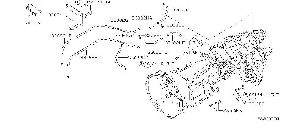 INFINITI QX56 Hose Breather. TRANSFER, FITTING, AUTO