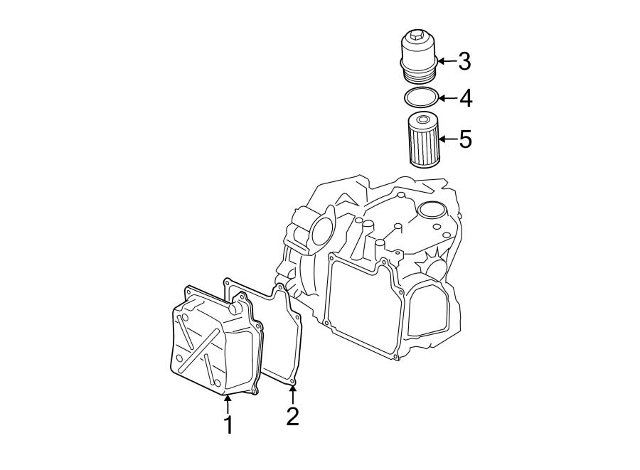 Volkswagen Beetle Transmission Filter Housing. Audi