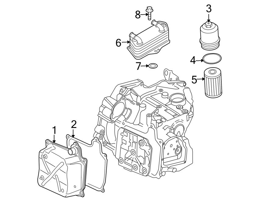 Volkswagen Beetle Filter. Seal. Housing. RING