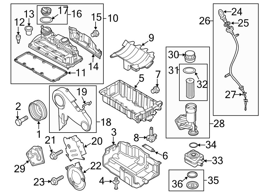 Volkswagen Golf Engine Intake Manifold Gasket. DIESEL