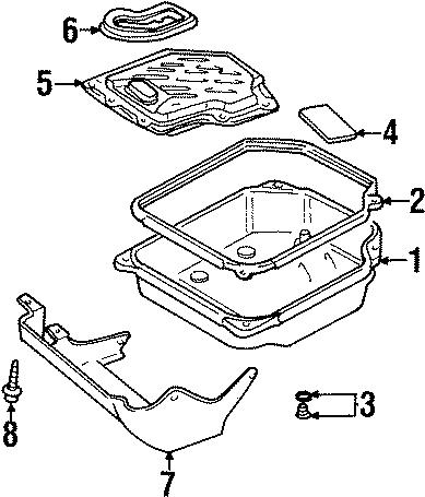 Volkswagen Cabrio Transmission Filter. LITER, SPEED