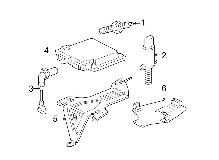 Volkswagen Touareg Engine Control Module. 5.0 LITER, from