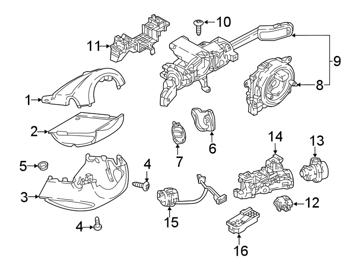 Volkswagen Tiguan Ignition Immobilizer Module. Arteon