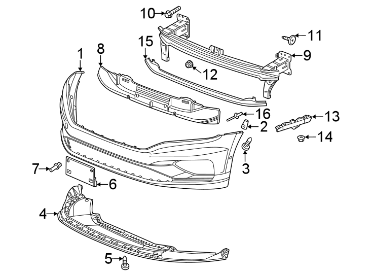 Volkswagen Passat Package Tray Screw. 6 CYLINDER. COVER