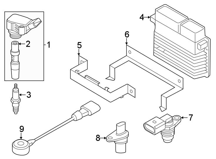 Volkswagen Passat Engine Camshaft Position Sensor