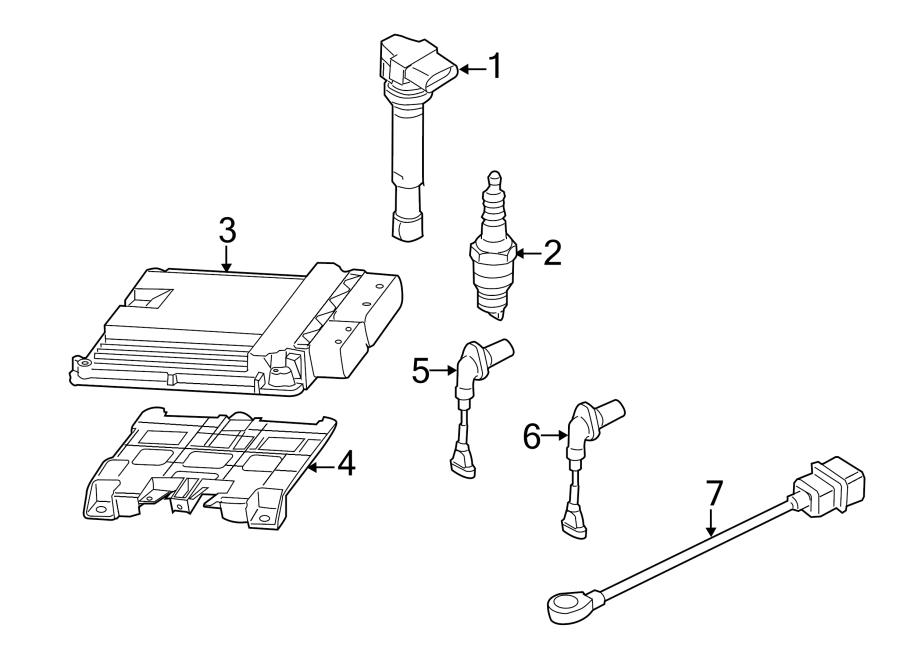 Volkswagen Golf Engine Control Module. Trans, Manual