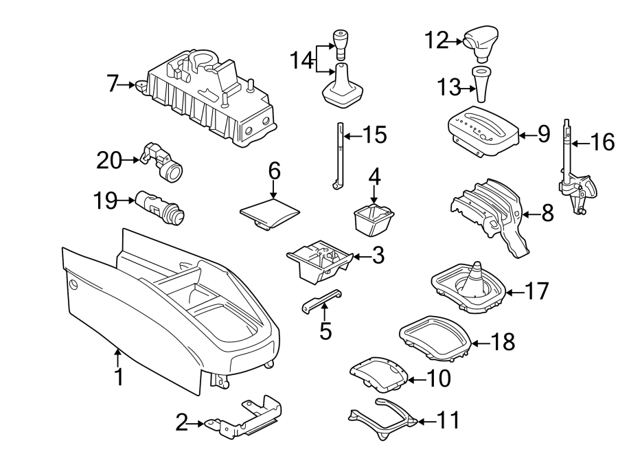 Volkswagen Jetta Manual Transmission Shift Linkage Boot