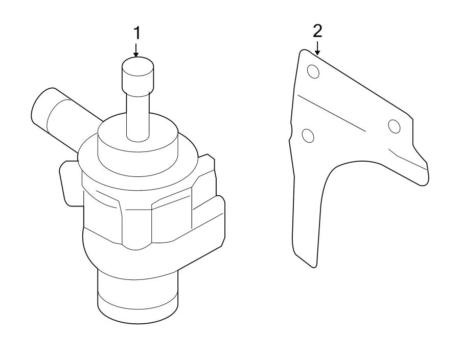 Volkswagen Jetta GLI Engine Auxiliary Water Pump. COOLING