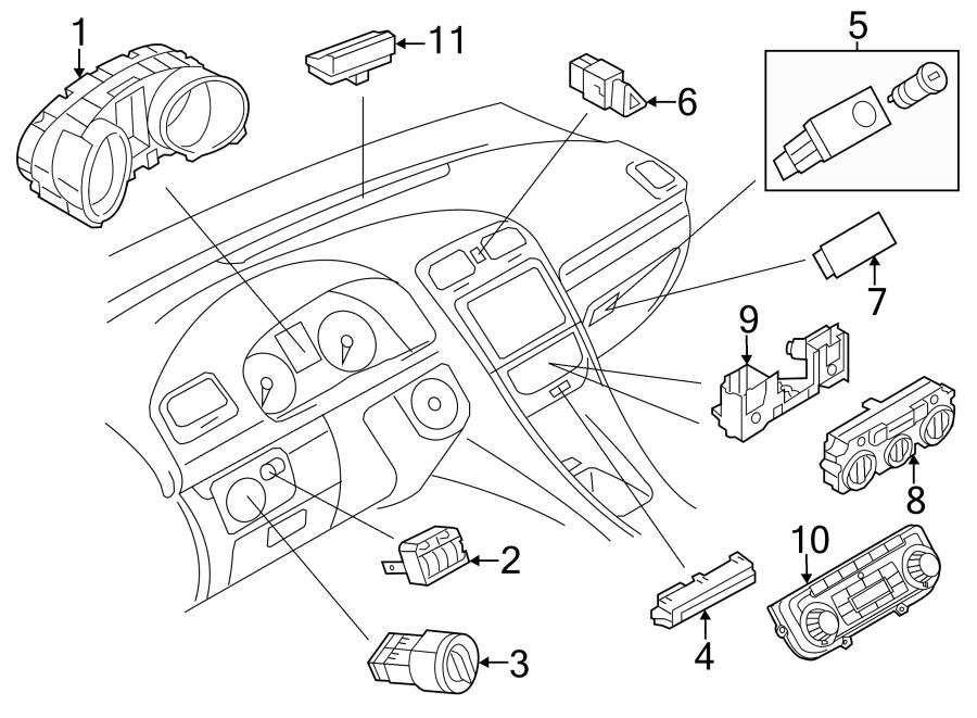 Volkswagen Jetta Hybrid Cluster ASSEMBLY. COMBINATION