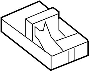 Volkswagen Jetta Relay Box. WAGON, Plate, SEDAN