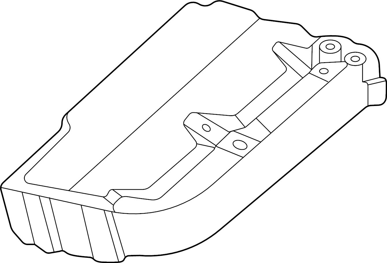 Volkswagen Alltrack Fuse Holder Thermostat Bracket