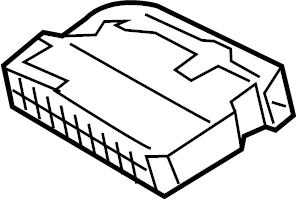Volkswagen Golf Fuse Box. Fuse Holder. Relay Box