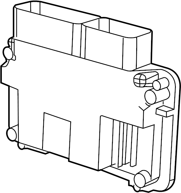 Volkswagen Beetle Engine Control Module. 1.8 LITER, w/o