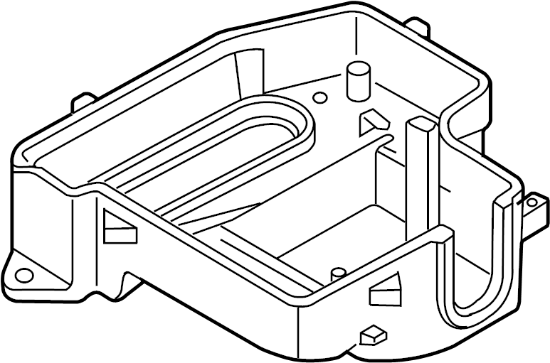 Volkswagen Passat Engine Control Module Cover. LITER