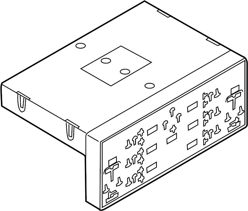 Volkswagen GTI Body Control Module. COMPARTMENT