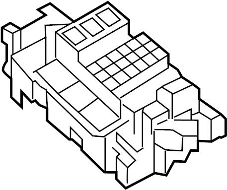 Volkswagen Jetta GLI Fuse. Relay. AND. Box. PLATE. Center